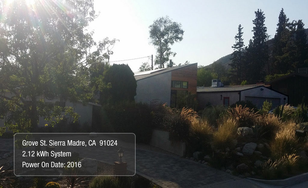Grove St Sierra Madre